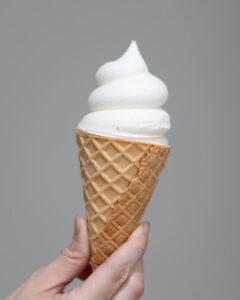 セブンのソフトクリーム風アイス